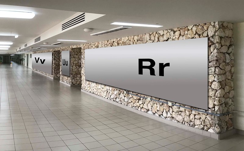 Terminal 2 : Vv,  Uu, Rr