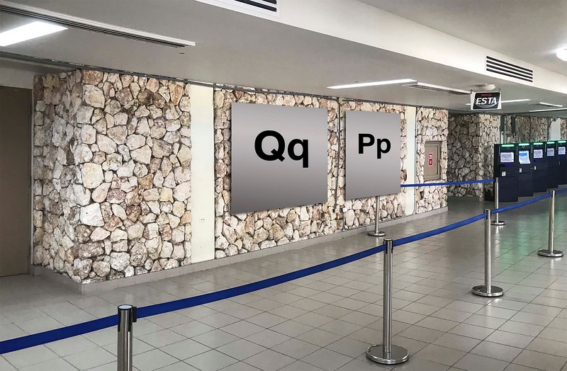 Terminal 2 : Qq, Pp, Automated Passport Control