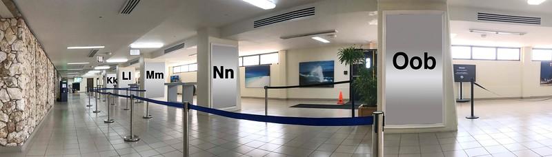Terminal 2 : Oob, Nn, Mm, Ll, Kk