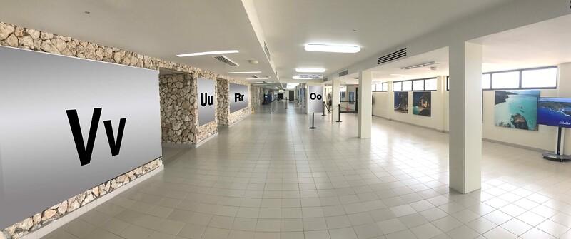 Terminal 2 : Vv, Uu, Rr, Oo