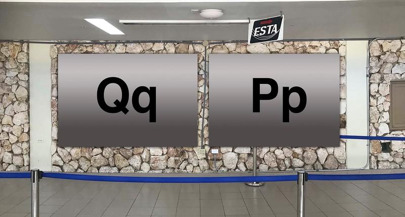Terminal 2 : Qq, Pp