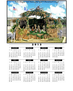 Nativity calendar copy