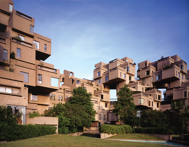 Habitat_67_View from courtyard_image by Timothy Hursley