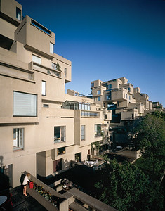 Habitat 67_Terrace View_image by Timothy Hursley