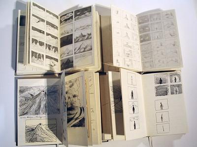 Le tout et la partie Michèle Lemieux, du dessin au film d'animation_Oeuvres