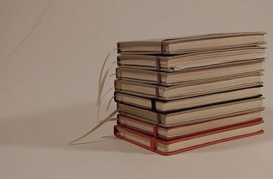 11- Pile de carnets de croquis