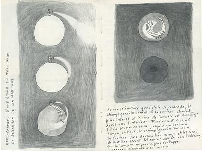 13 à 26- Double pages de carnets d'esquisses 2009 - 2012