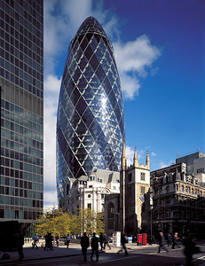 2004 Swiss Re HQ, 30 St Mary Axe
