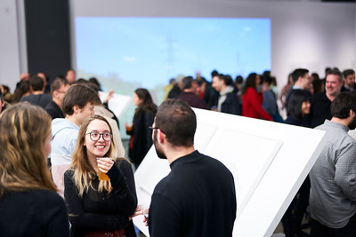 LA PRÉCISION DU VAGUE_Vernissage_CENTRE DE DESIGN DE L'UQAM_2019_© Benoit Rousseau