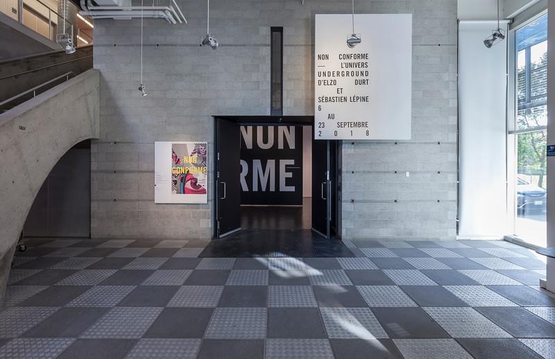 NON CONFORME - EXPO - CENTRE DE DESIGN DE l'UQAM - 2018 - © Michel Brunelle