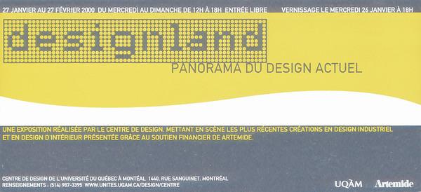 Carton d'affiche, Renzo Design