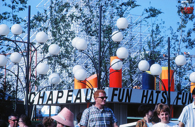 NS_14-2 : Dispositif d'éclairage, Parc d'attraction La Ronde, 1967