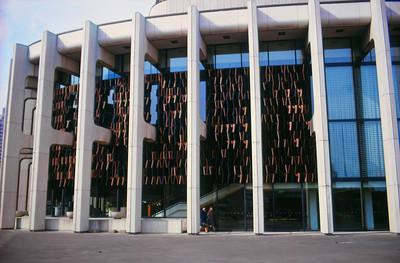 NS_08 : Grille ornementale, Place des Arts, Montréal, 1963