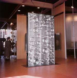 NS_01 : Écran sculptural «Lingot», Gouv. du Canada, Pavillon de Bruxelles, 1958