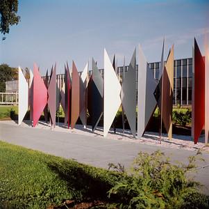 NS_05 : Écran sculptural, CIBA-Ceigy Pharmaceutical, Dorval, 1960