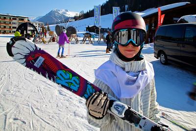 Jugend Schnee Sport Tage Davos
