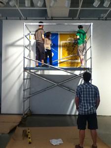 IMG_0214 Lino en chantier ©MAD Centre de design de l'UQAM Saison 2011-2012