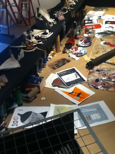 IMG_0220 Lino en chantier ©MAD Centre de design de l'UQAM Saison 2011-2012