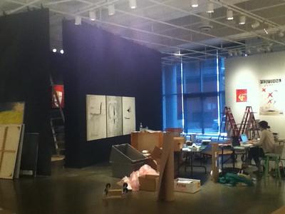 IMG_0218 Lino en chantier ©MAD Centre de design de l'UQAM Saison 2011-2012