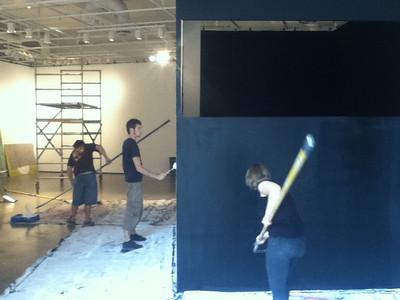 IMG_0207 Lino en chantier ©MAD Centre de design de l'UQAM Saison 2011-2012