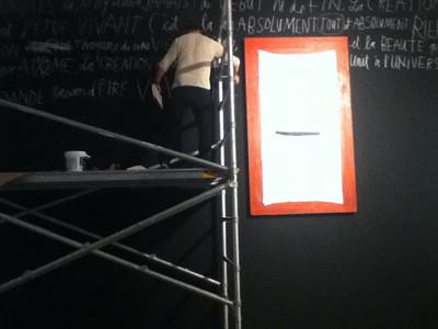 IMG_0228 Lino en chantier ©MAD Centre de design de l'UQAM Saison 2011-2012
