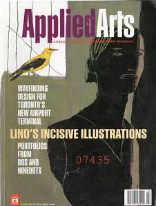 07.  LINO Applied Arts Illustration, avril 2004, couverture