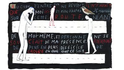09.LINO La Saveur du vide Roman graphique, Les 400 coups, 2004,