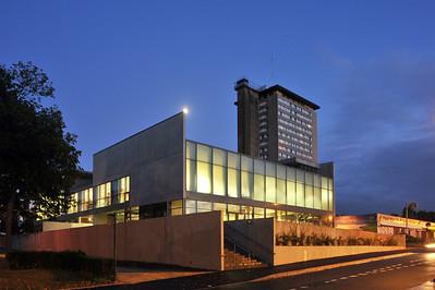 Centre socio-culturel des Champs Manceaux, Rennes, 2012, photo JC Bachelot ©Agence Michel Kagan Architecture & Associés