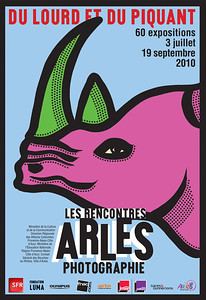 affiche 18 Pantone Arles 2010
