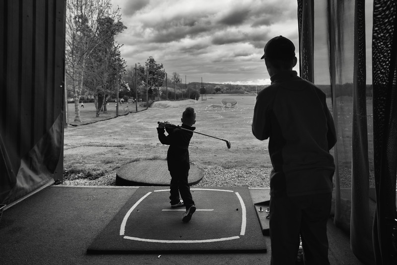 Ethan Aniko Towers Photo Russell Adams Golf Academy Easter Camp-12