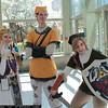 Princess Zelda, Pipit, and Link