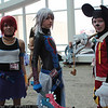 Kairi, Riku, and Mickey Mouse