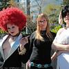 Trisha, Katherine McBride, and Vincent Brooks