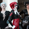 Livewire, Harley Quinn, and Catwoman