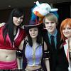 Boa Hancock, Nico Robin, Sanji, Nami, and Salome