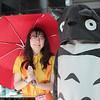Satsuki Kusakabe and Totoro