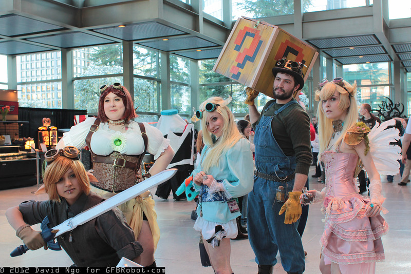 Link, Princess Daisy, Rosalina, Luigi, and Princess Peach