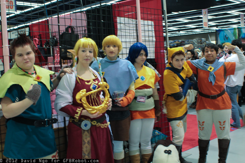 Groose, Princess Zelda, Strich, Cawlin, Pipit, and Fledge