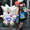 Misty, Ash Ketchum, and Togepi