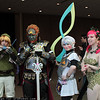 Link, Ganondorf, Fierce Deity Link, and Great Fairy