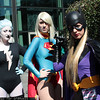 Livewire, Supergirl, and Batgirl