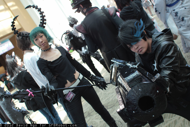 Dead Master and Black Rock Shooter