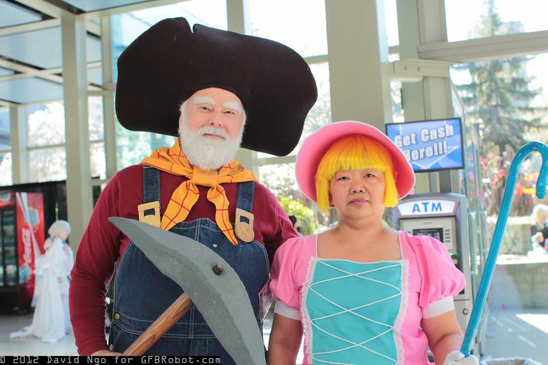 Stinky Pete and Bo Peep
