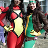 Spider-Woman and Rogue