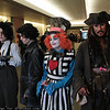 Edward Scissorhands, Sweeney Todd, Mad Hatter, and Captain Jack Sparrow