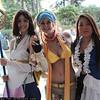 Yuna, Rikku, and Lenne