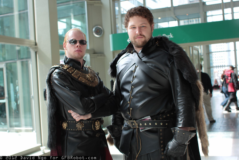 Tywin Lannister and Robb Stark