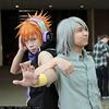 Neku Sakuraba and Joshua Kiryu