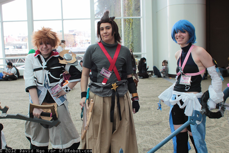 Ventus, Terra, and Aqua