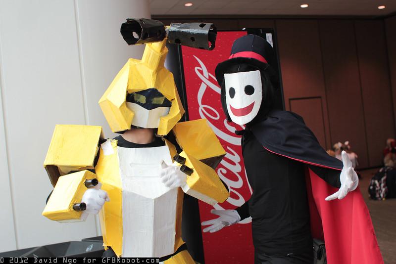 Metabee and Phantom Renegade